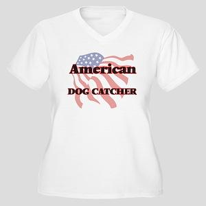 American Dog Catcher Plus Size T-Shirt