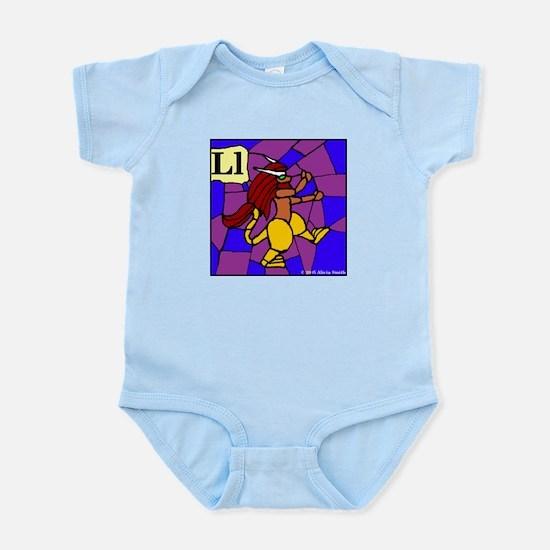 L is for Lympago Infant Bodysuit