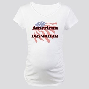 American Drywaller Maternity T-Shirt