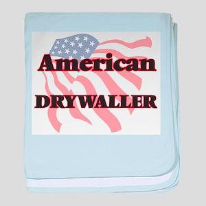 American Drywaller baby blanket