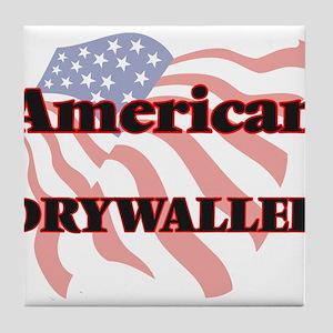 American Drywaller Tile Coaster