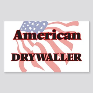 American Drywaller Sticker