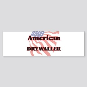 American Drywaller Bumper Sticker