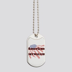 American Drywaller Dog Tags