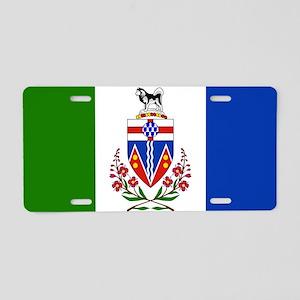 Yukon Aluminum License Plate