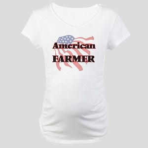 American Farmer Maternity T-Shirt