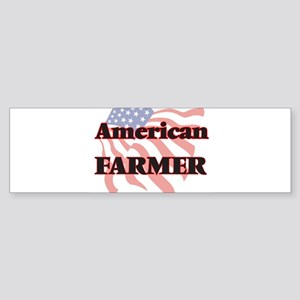 American Farmer Bumper Sticker