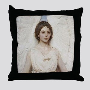 Angel 1887 By Albert Handerson Throw Pillow