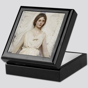 Angel 1887 By Albert Handerson Keepsake Box