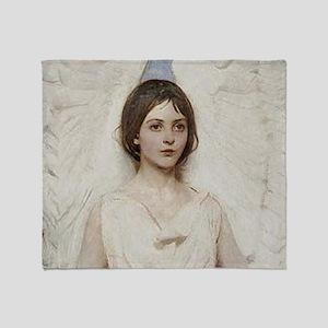 Angel 1887 By Albert Handerson Throw Blanket