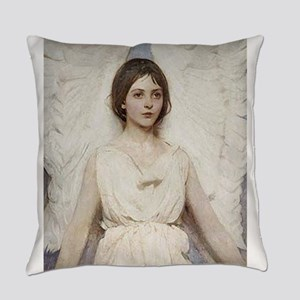 Angel 1887 By Albert Handerson Everyday Pillow