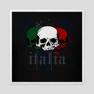 Italian Skulls Queen Duvet