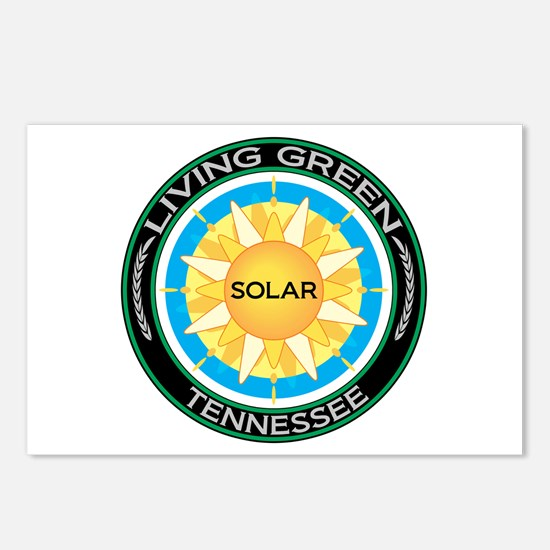 Living Green Tennessee Solar Energy Postcards (Pac