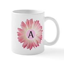 Personalize Pink Daisy Mugs