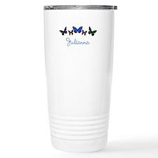 Personalize Butterflies Travel Mug