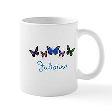 Personalize Butterflies Mugs