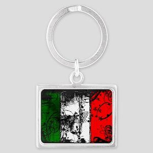Decorative Italian Flag Keychains
