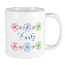 Personalize Flowers Mugs