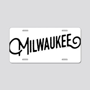 Milwaukee Wisconsin Aluminum License Plate