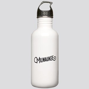 Milwaukee Wisconsin Stainless Water Bottle 1.0L