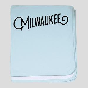 Milwaukee Wisconsin baby blanket