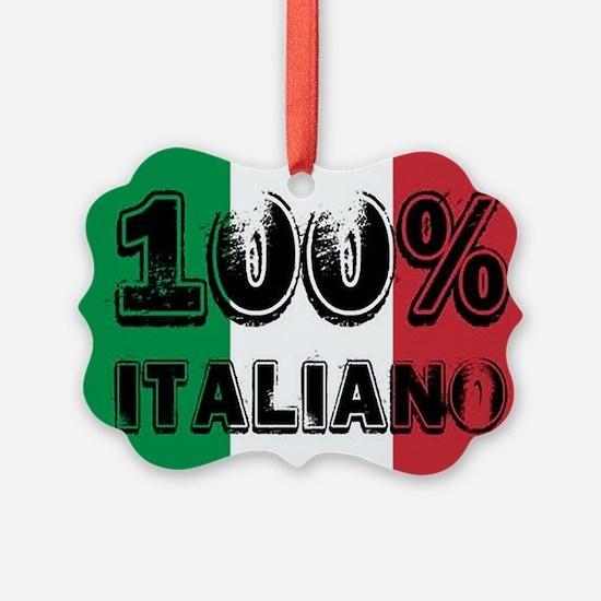 100% Italiano Ornament