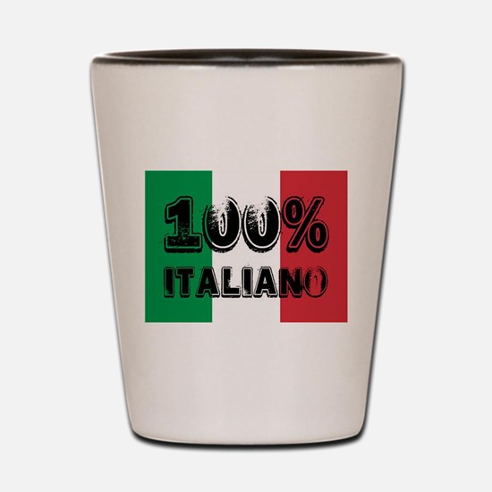 100% Italiano Shot Glass