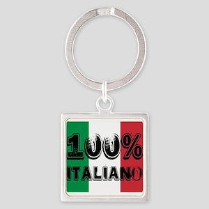 100% Italiano Keychains