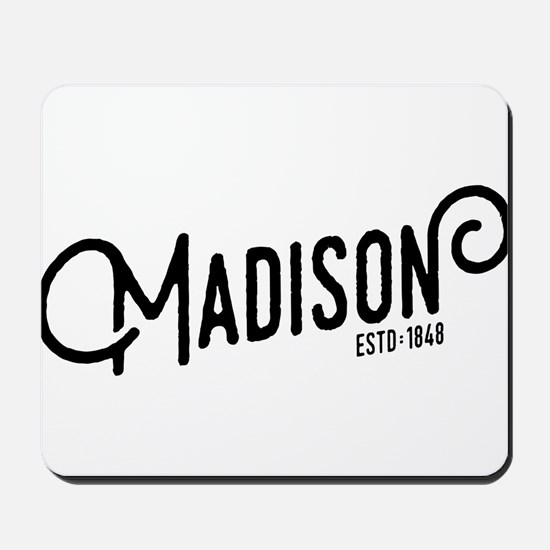 Madison Wisconsin Mousepad