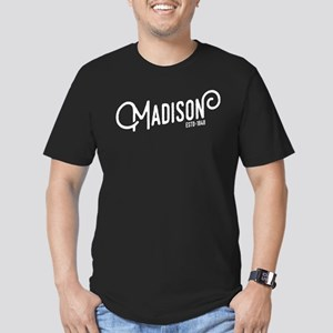 Madison Wisconsin Men's Fitted T-Shirt (dark)
