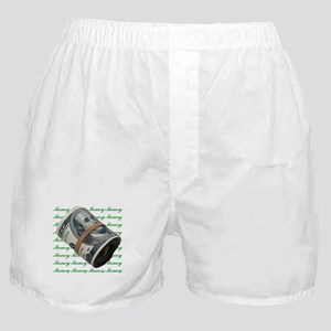 MONEY MONEY MONEY Boxer Shorts
