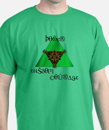 Power, Wisdom, Courage T-Shirt