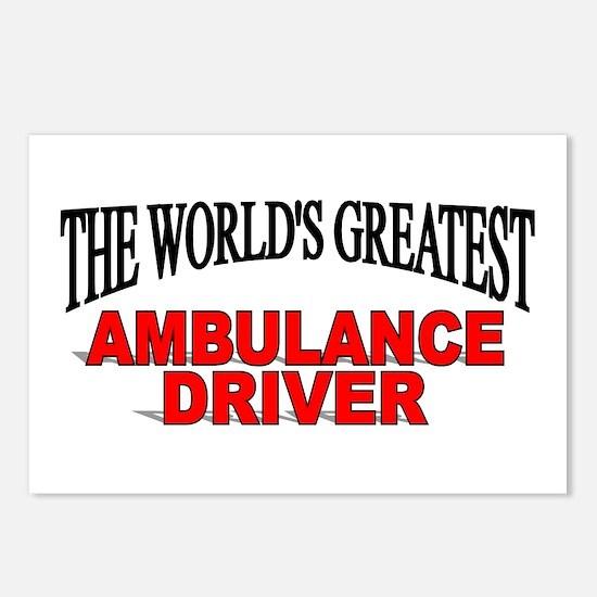 """The World's Greatest Ambulance Driver"" Postcards"