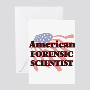 American Forensic Scientist Greeting Cards