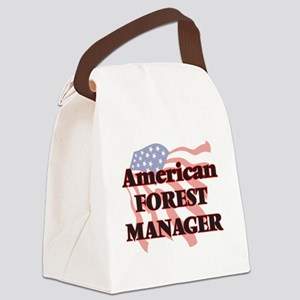 American Forest Manager Canvas Lunch Bag