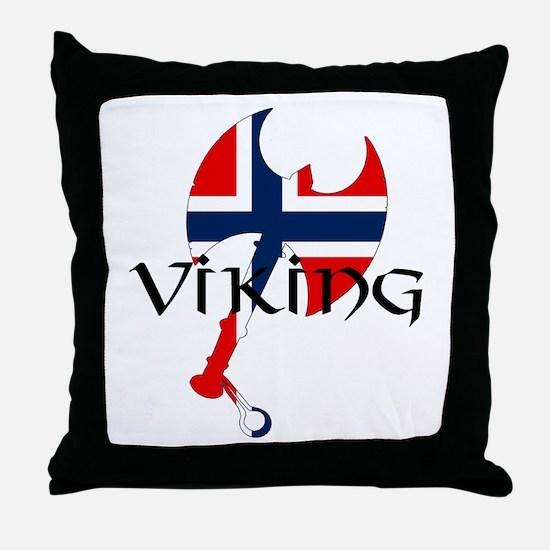 Norway Viking Throw Pillow