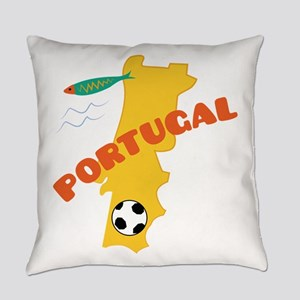 Portugal Everyday Pillow