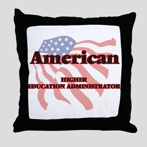 American Higher Education Administrat Throw Pillow