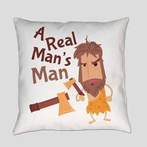 A Real Man Everyday Pillow