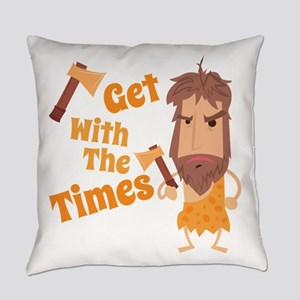 With The Times Everyday Pillow