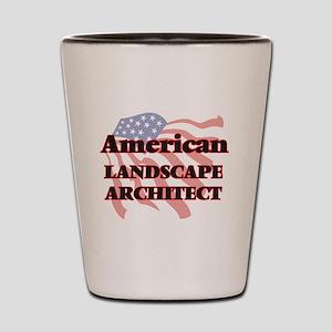 American Landscape Architect Shot Glass