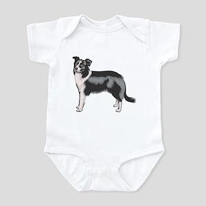 Boarder Collie Infant Bodysuit
