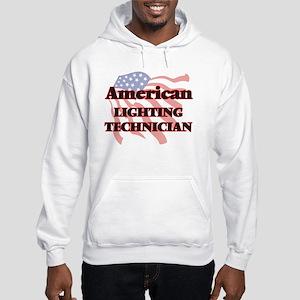 American Lighting Technician Hooded Sweatshirt