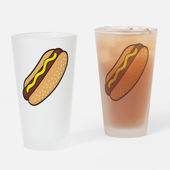 Cute Barbeque Drinking Glass