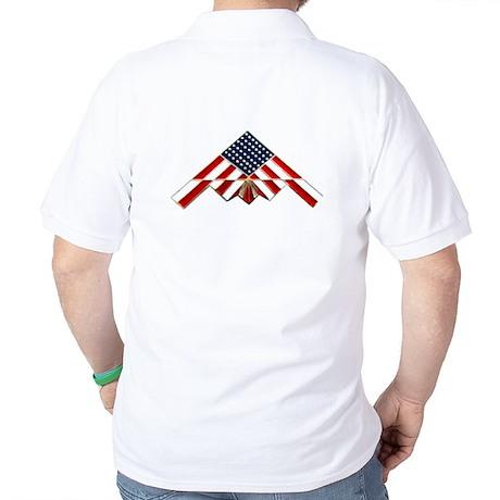 Stealth Flag Golf Shirt
