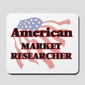 American Market Researcher Mousepad