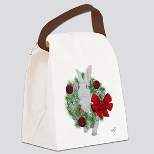 Hoppy Holidays! Canvas Lunch Bag
