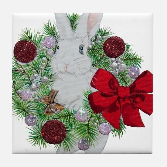 Hoppy Holidays! Tile Coaster