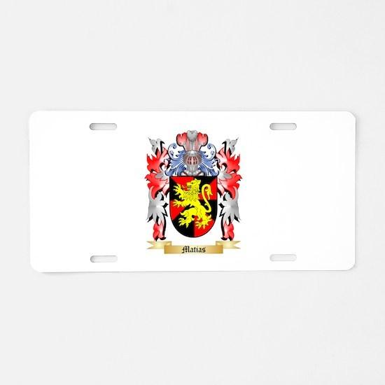 Matias Aluminum License Plate