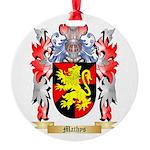Mathys Round Ornament